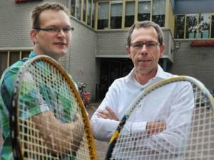 Robin Woudstra (links) en Martin Grimberg